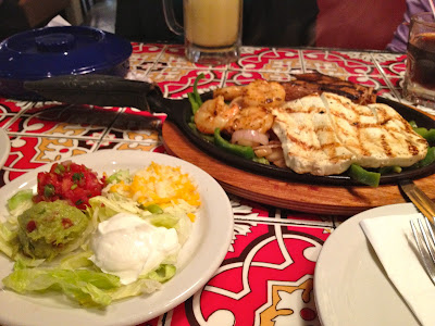 Fajitas at Chili's Pune