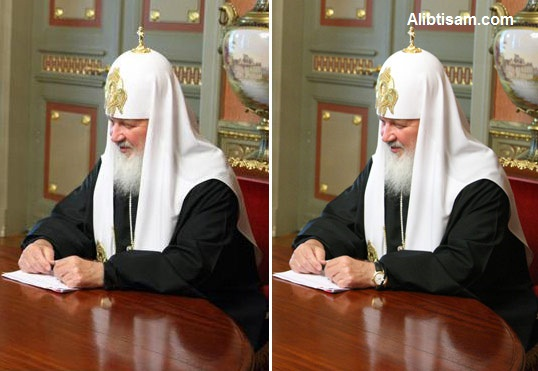 فضيحة فوتوشوب الكنيسة الروسية
