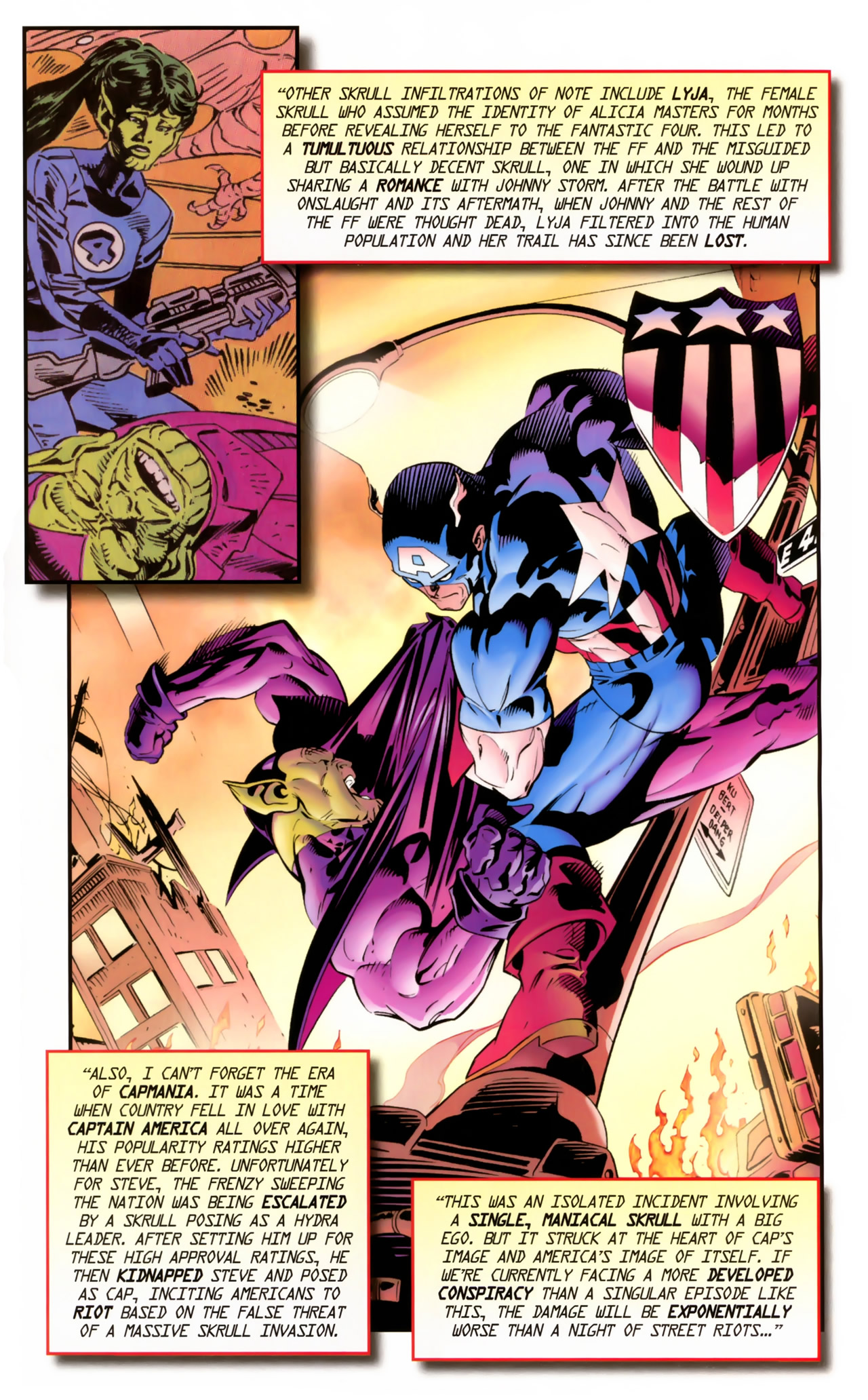 Read online Secret Invasion: The Infiltration comic -  Issue #11 - 19