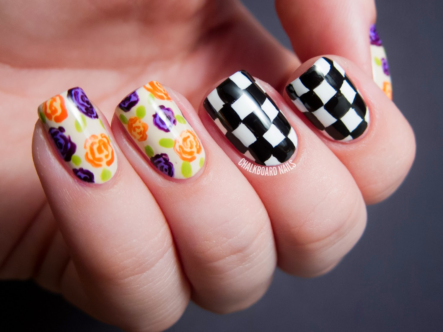 Musings On Style Fashion Peeve Nail Art