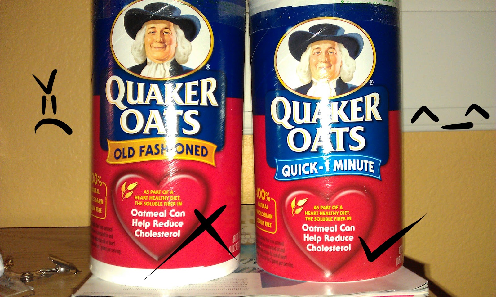 Quaker quick oats vs old fashioned 81