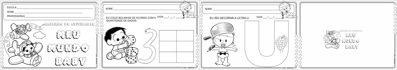 Caderno de Atividades Meu Mundo Baby