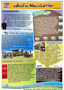 CDBS NEWSLETTER 11-24 MARET 2011