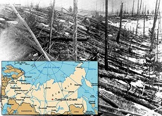 The Tunguska Explosion of Russia
