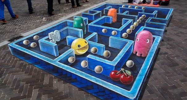 Impressive 3D Street Paintings By Leon Keer