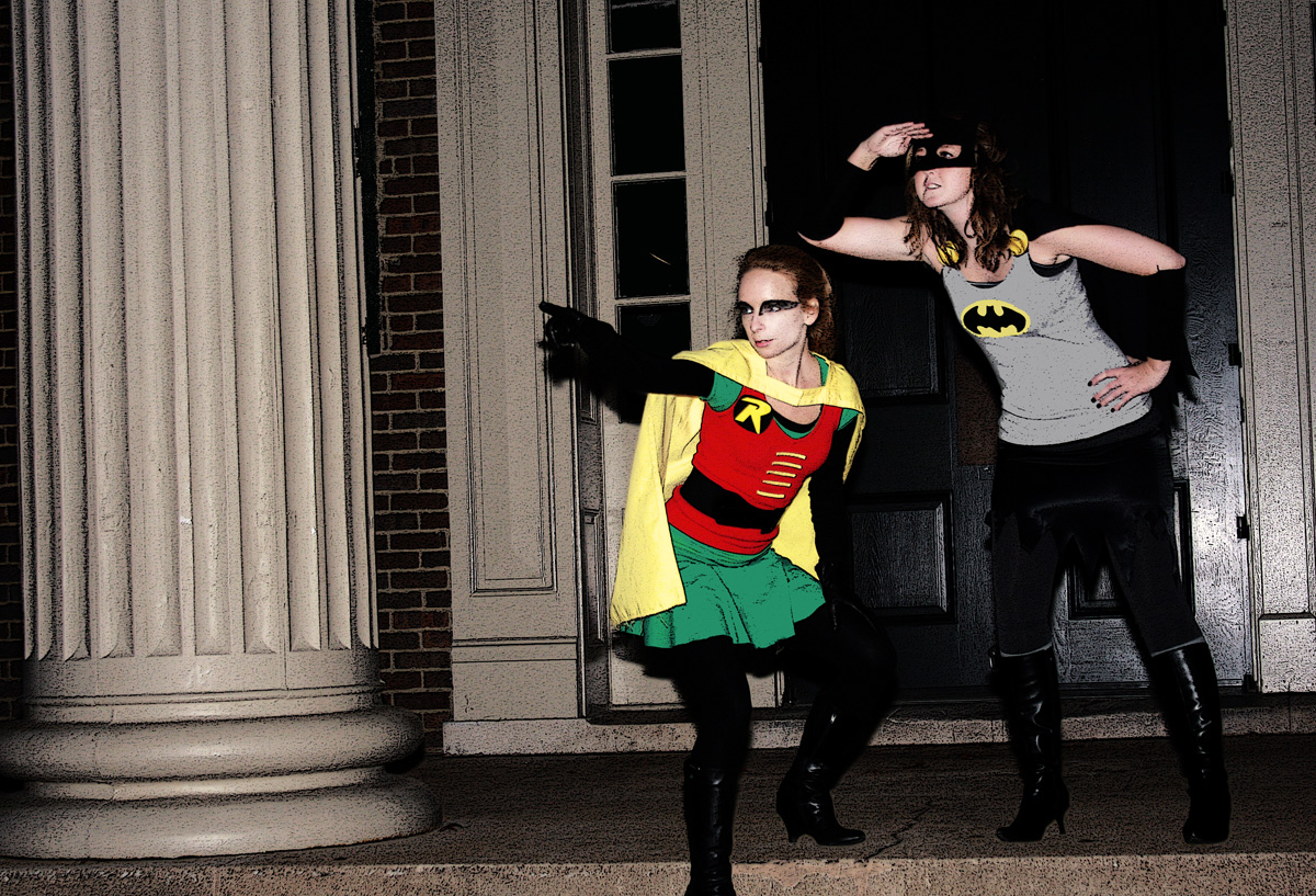 Holy strawberries Batman! Weu0027re in a jam!  Robin : batman and robin girl costumes  - Germanpascual.Com
