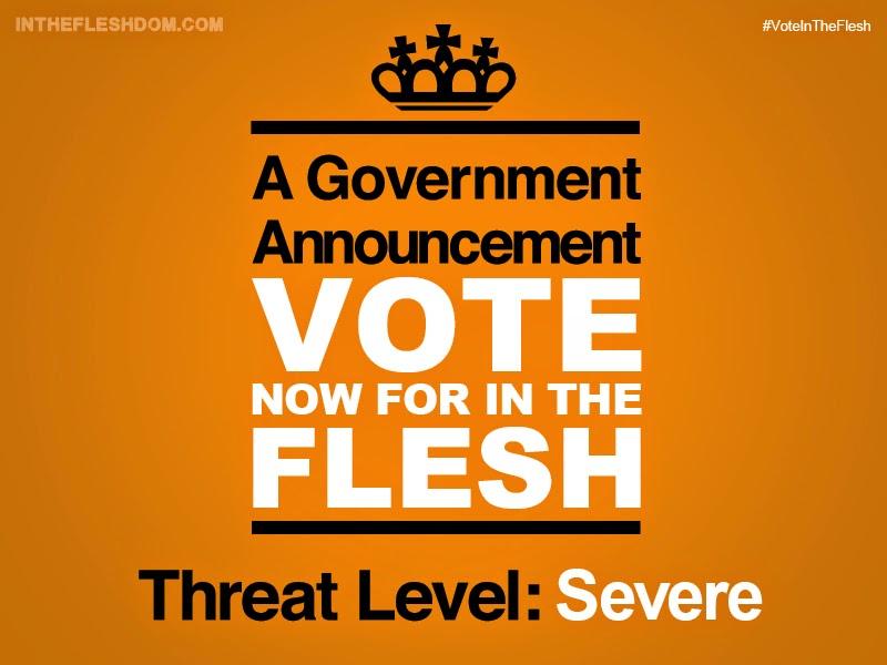 in the flesh, kieren walker, amy, simon, radiotimes, encuesta, fans, fleshdom, vote in the flesh, el zorro con gafas