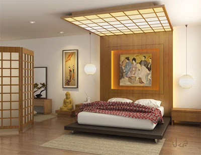 Asian interior design chambre interieurdesignidees for Chambre oriental design