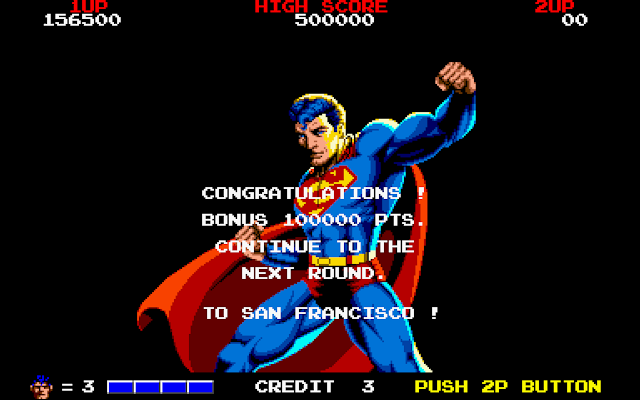 Superman coin op