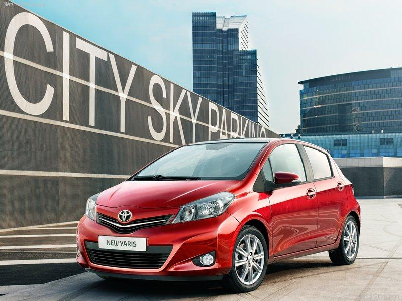 2012 new Toyota Yaris
