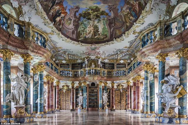 Abadia de Wiblingen en Ulm, Alemania