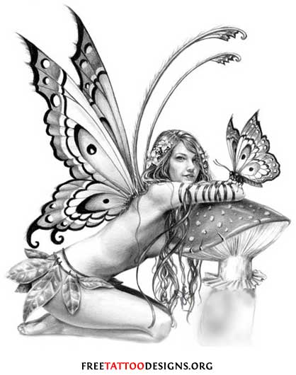 Fairy Tattoo Designs Are Some Of The Most Popular With Women, Because