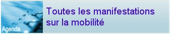 L'agenda de toutes les manifestations sur la mobilité
