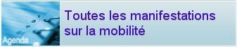L'agenda de toutes les manifestations sur la mobilité