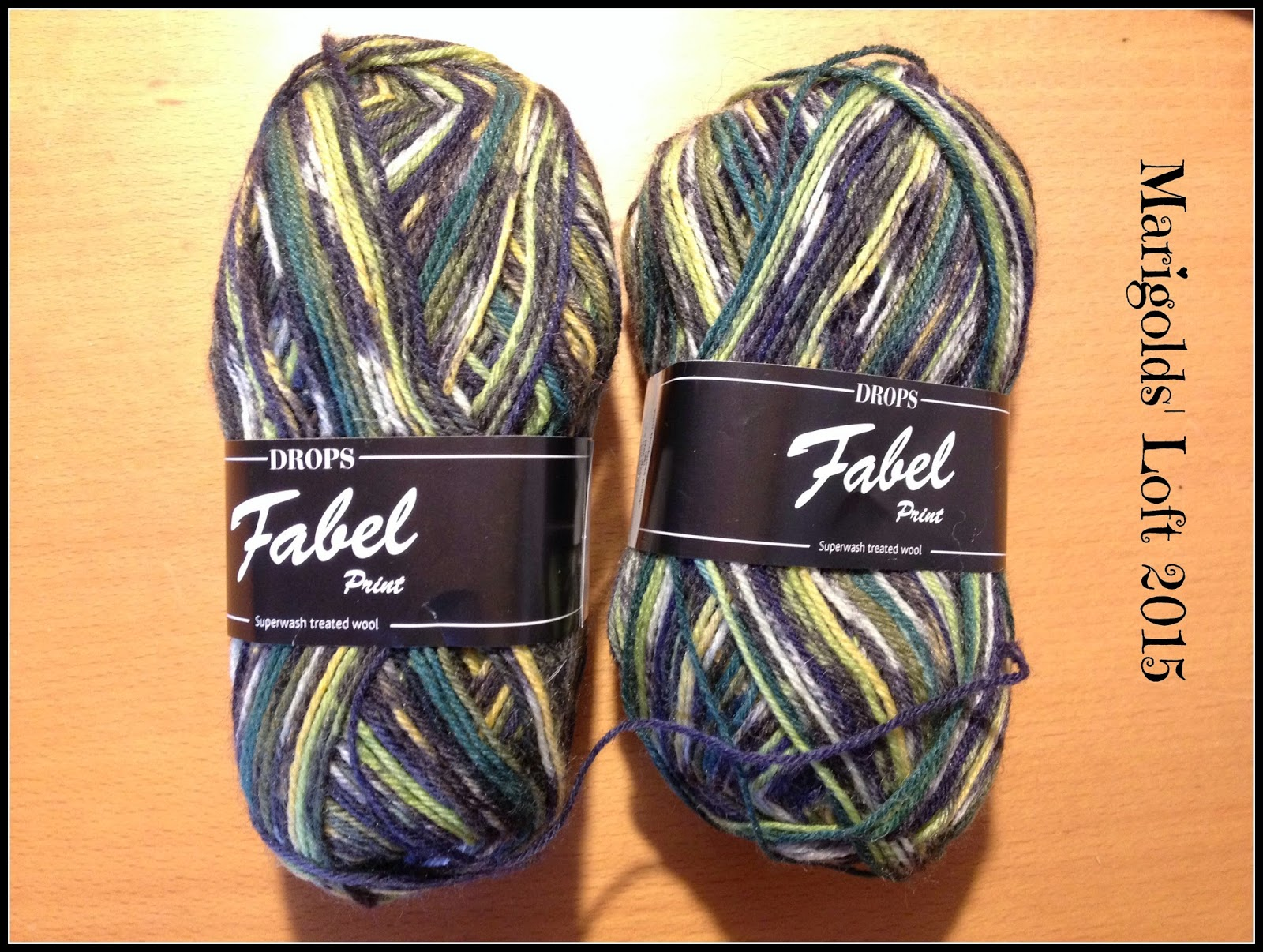 Mens socks drops fabel
