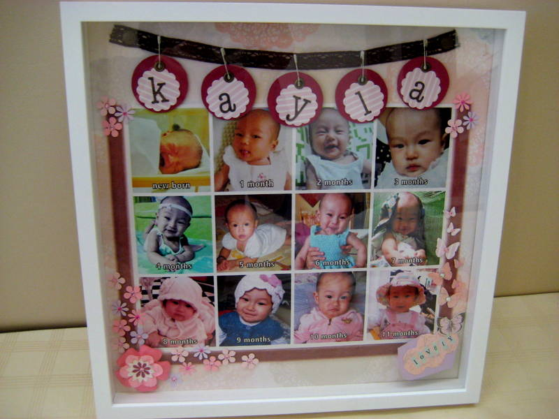 Fluffyheartz ♥: Photo frame for baby