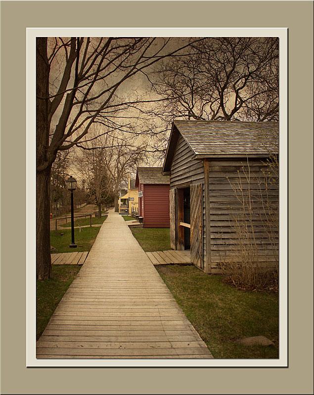Queen St at Black Creek Pioneer Village