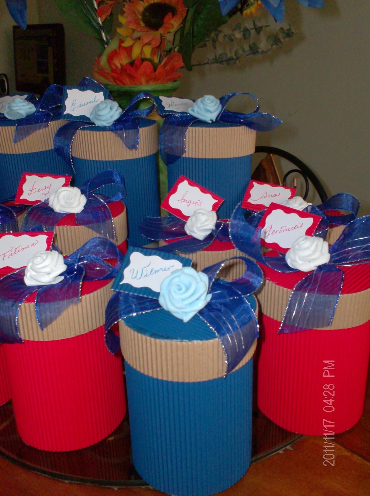 Cotillones de Carton Corrugado