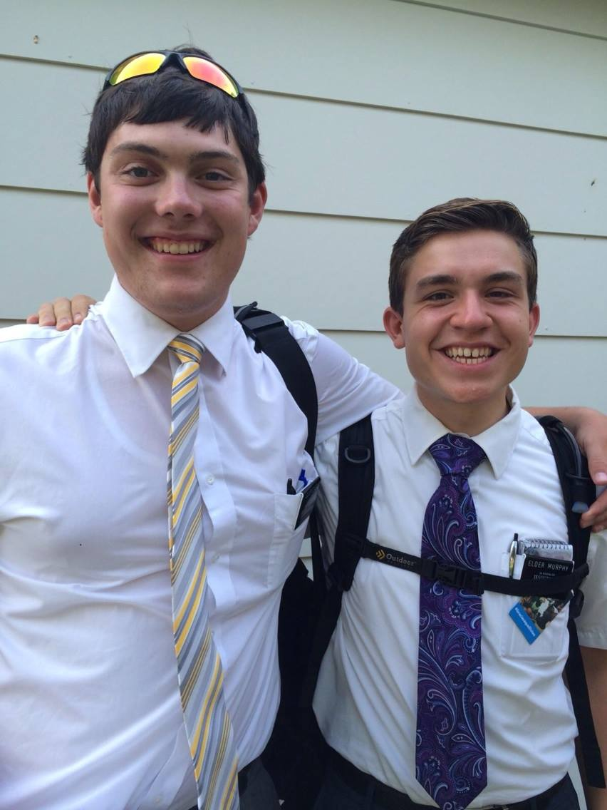 Elder Boyer and Elder Murphy