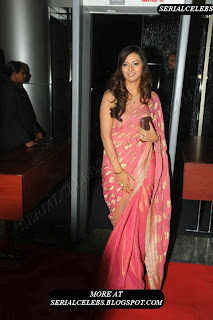 Isha Chawla in silk saree