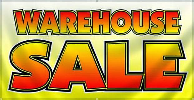 Warehouse Sale! Sat. July 26th noon-4pm 800 w. Jefferson st.