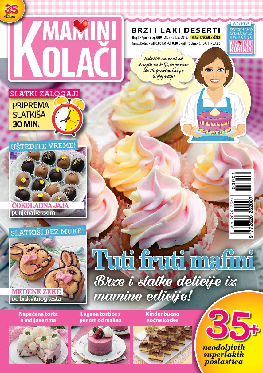 Mamini kolači - novi broj 25.5.:)