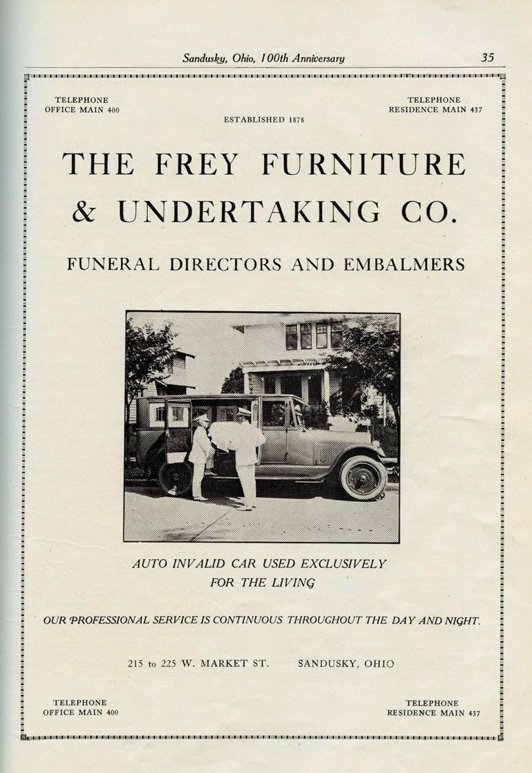 Sandusky History: When Sandusky\'s Funeral Homes Provided Ambulance ...