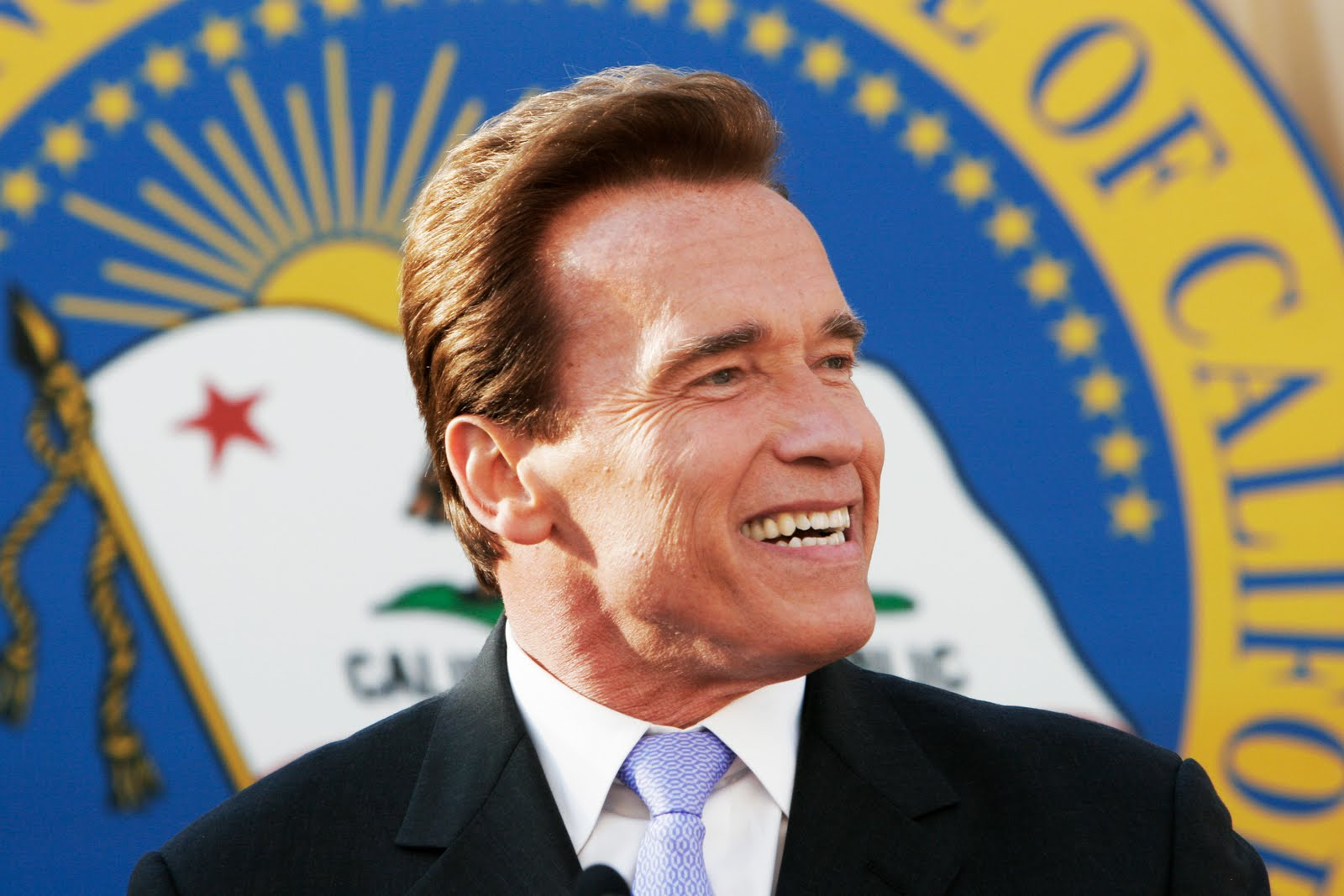 Arnold Schwarzenegger Some amateur vid footage of the fight: