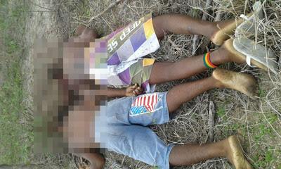 Dois adolescentes envolvidos com o tráfico de drogas foram sequestrados e mortos