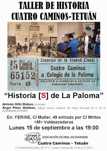 Historia [S] de La Paloma