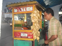 night food vendor Bandar Lampung
