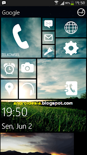 Metro 8 Launcher - Tema Windows Phone untuk Android