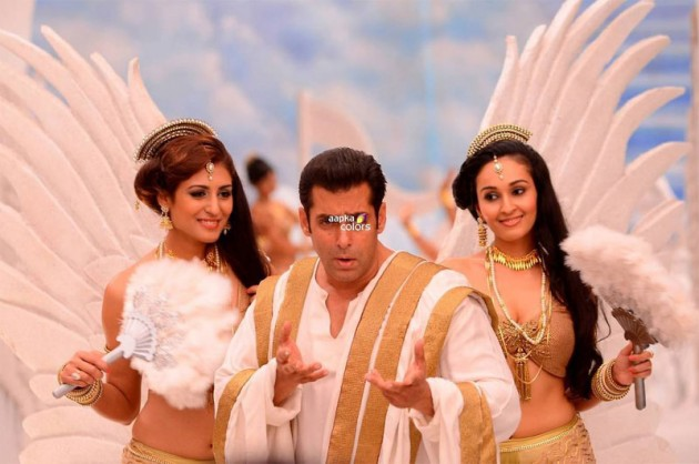 Salman Khan Bigg Boss 7 Angel Avatar