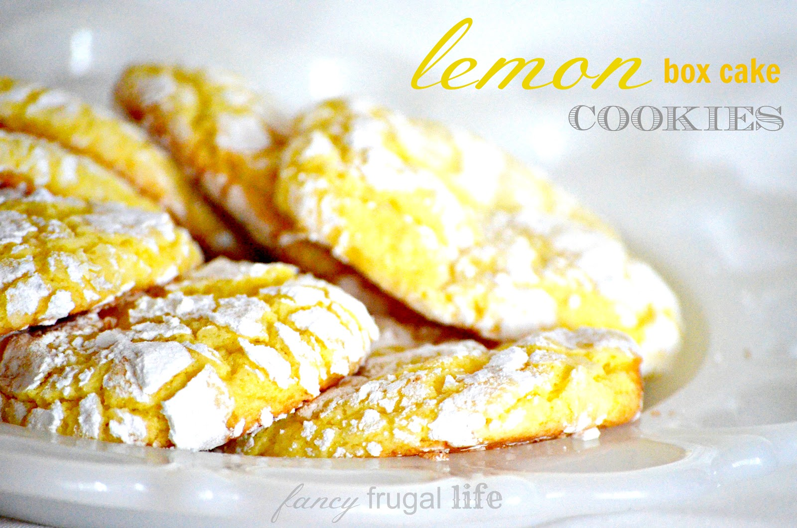 lemon cake box recipe