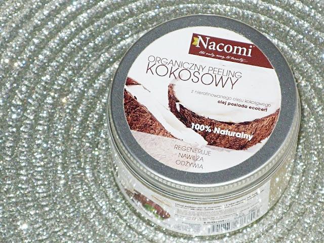 Recenzja: Organiczny peeling kokosowy z wiórkami kokosowymi, Nacomi