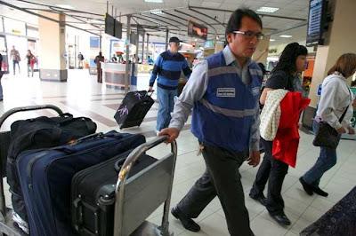Horario de salida de vuelos internacionales desde Quito día Lunes