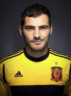 camiseta selección española 2013 Copa Confederaciones Iker Casillas
