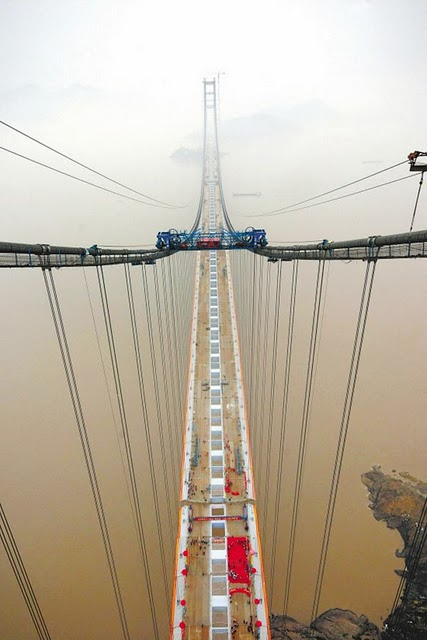 Xihoumen Bridge, China – 1,650 m