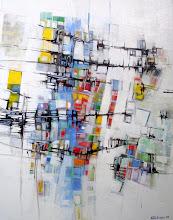 Le coeur voilé - 92 x 73 cm - 2005