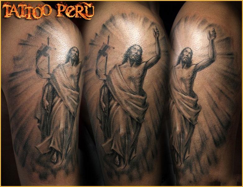 ¿En que parte del Cuerpo se puede Tatuar?. 01_jesucristo