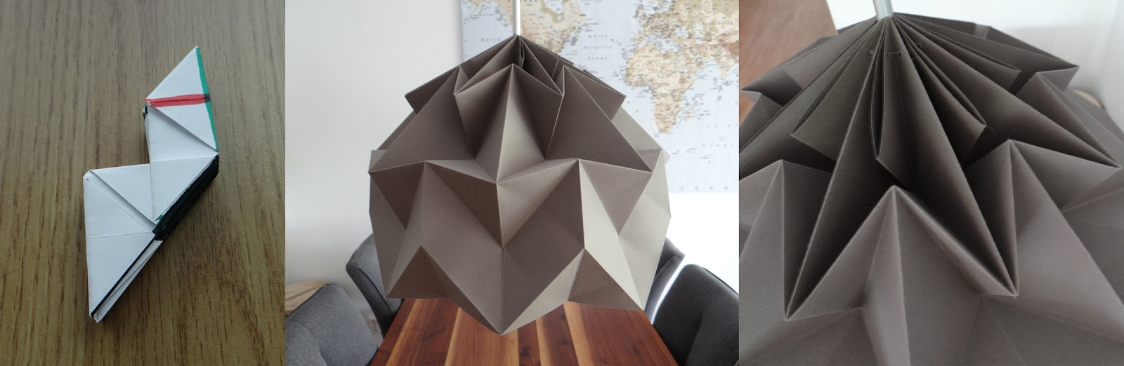 Creating my own lampshades based on the origami magic ball mostly creating my own lampshades based on the origami magic ball aloadofball