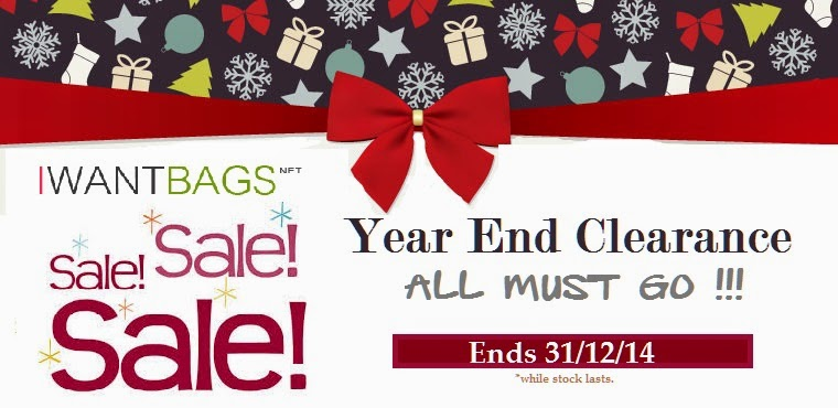 IWANTBAGS X'mas YEAR END SALE!!! (Part II)