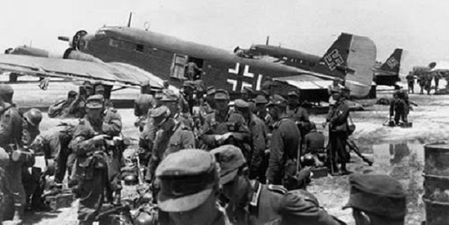 Το έπος της Μάχης της Κρήτης: Το «νεκροταφείο των γερμανών αλεξιπτωτιστών» απο τους αμόρφωτους χωριάτες!! αντί να υποδεχτούν τους Γερμανούς ως απελευθερωτές τους σκοτωναν