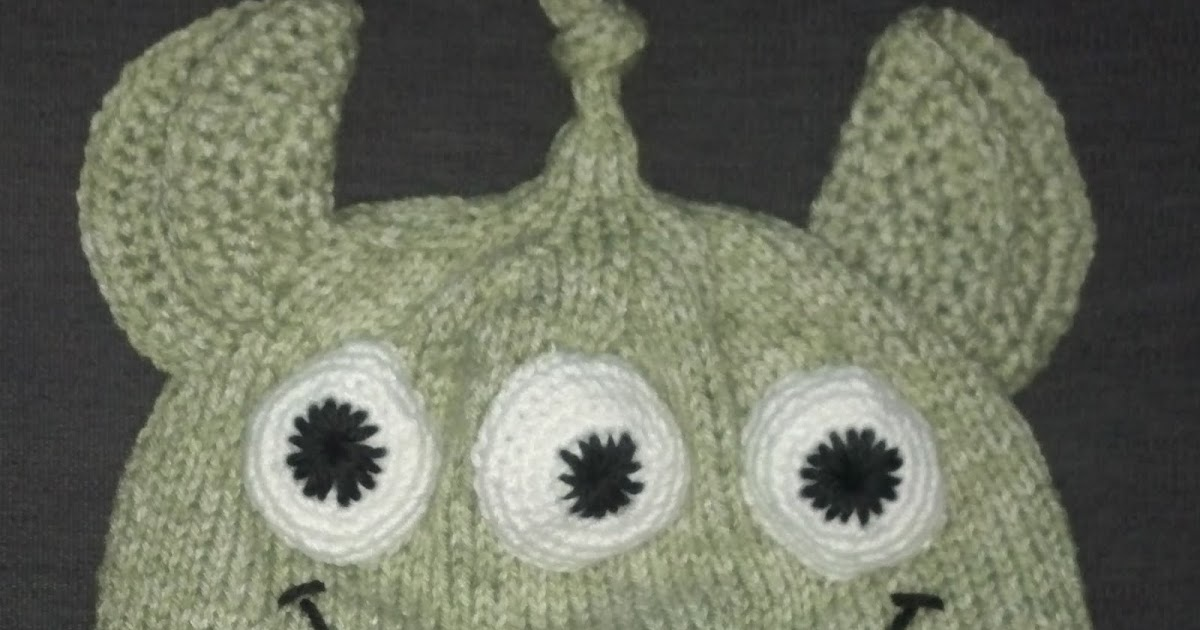Knitting Pattern Toy Story Characters : The Guilty Knitter: Little Green Man hat (Inspired by the characters from Toy...