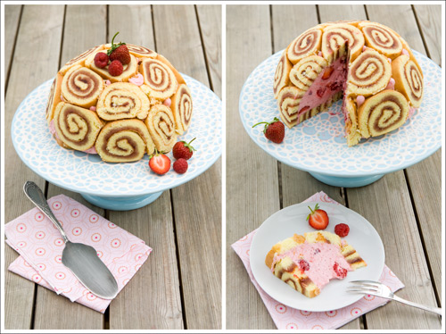 Berry Lovely: Strawberry-Raspberry Charlotte