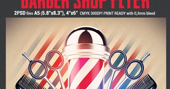 Barber Shop Flyer Template Prg