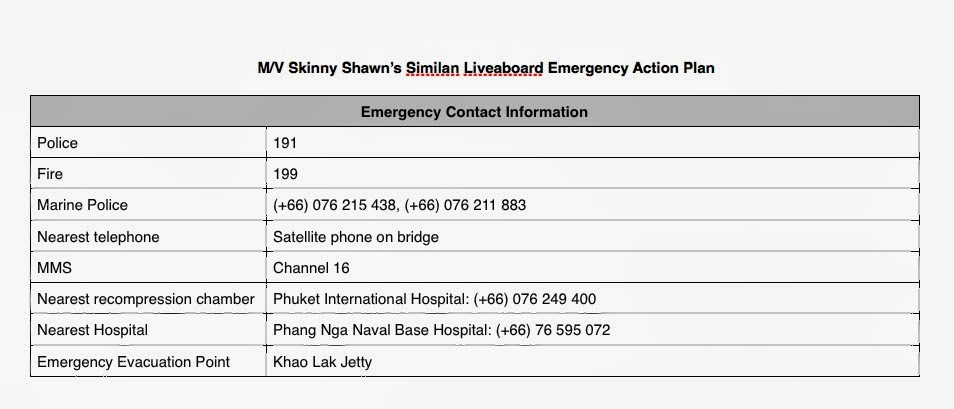 Neurotic Ramblings of a Singaporean Couple Emergency Action Plan – Emergency Action Plan Sample
