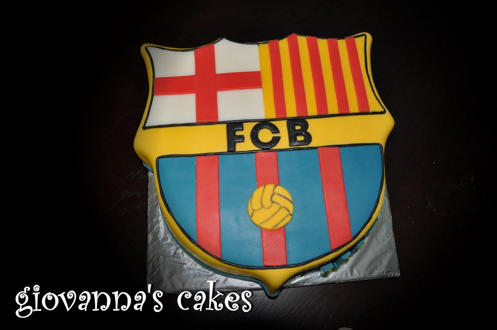 Giovannas cakes fc barcelona crest fc barcelona crest biocorpaavc