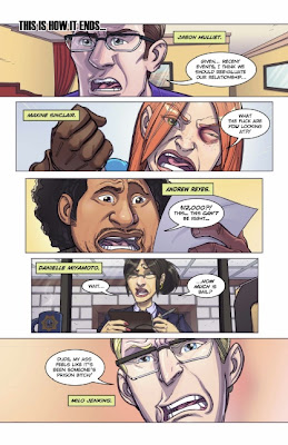 Page one of Double Jumpers #1 from Action Lab Comics