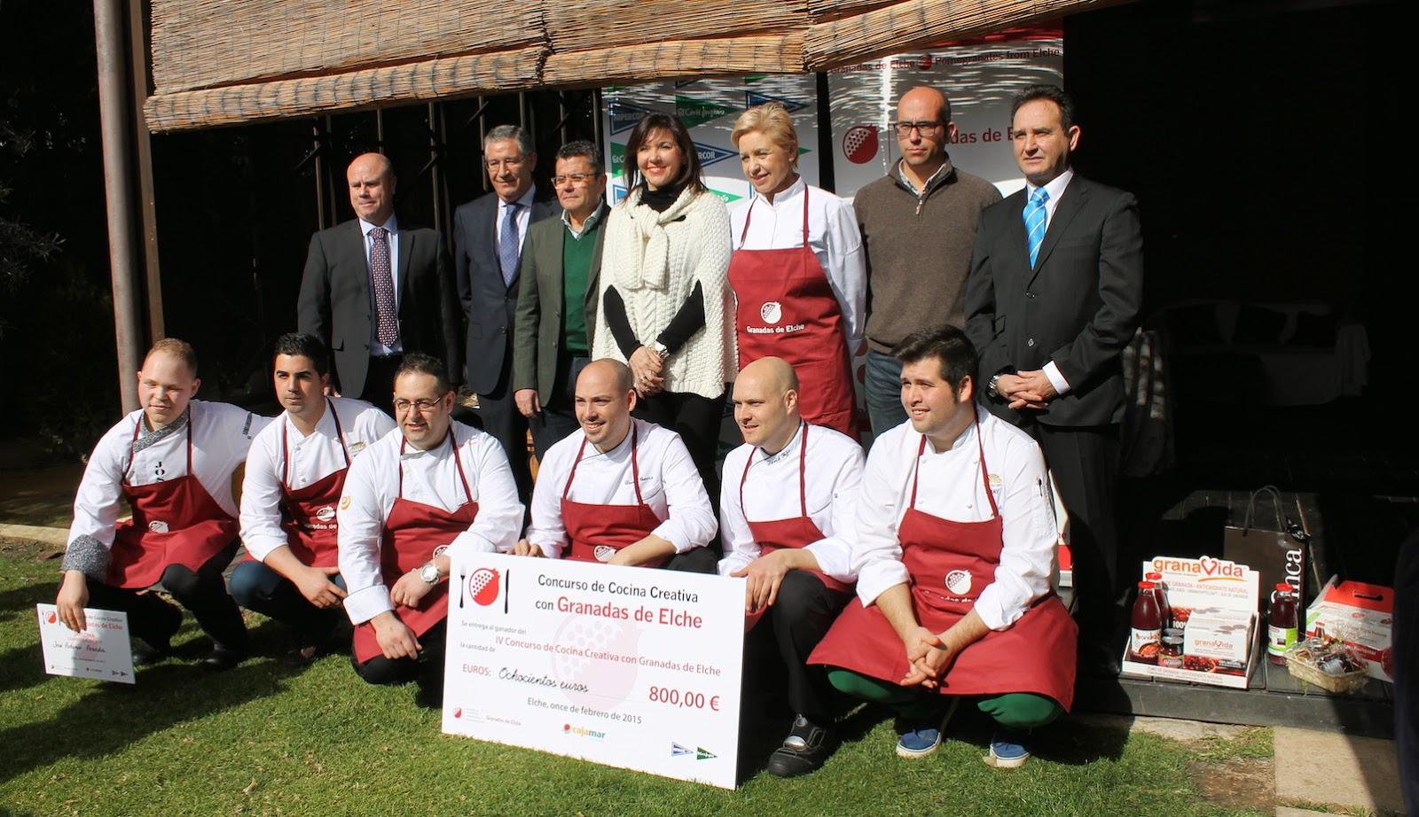 Foto familia Concurso Cocina Creativa Granada Mollar Elche